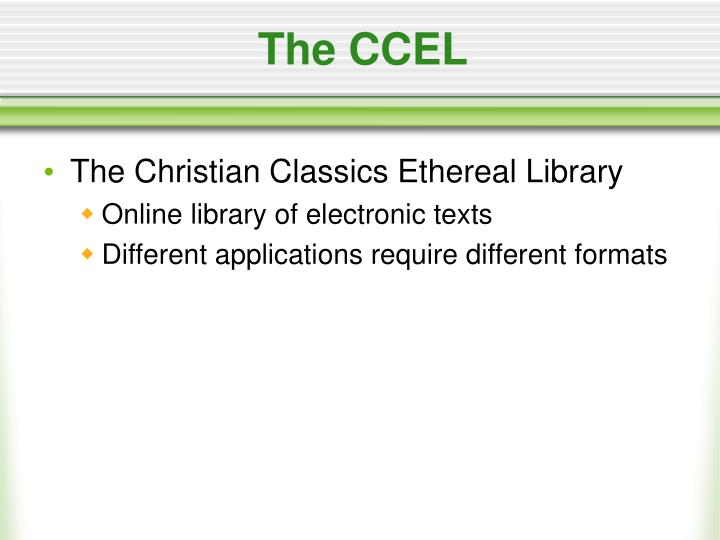 The ccel1