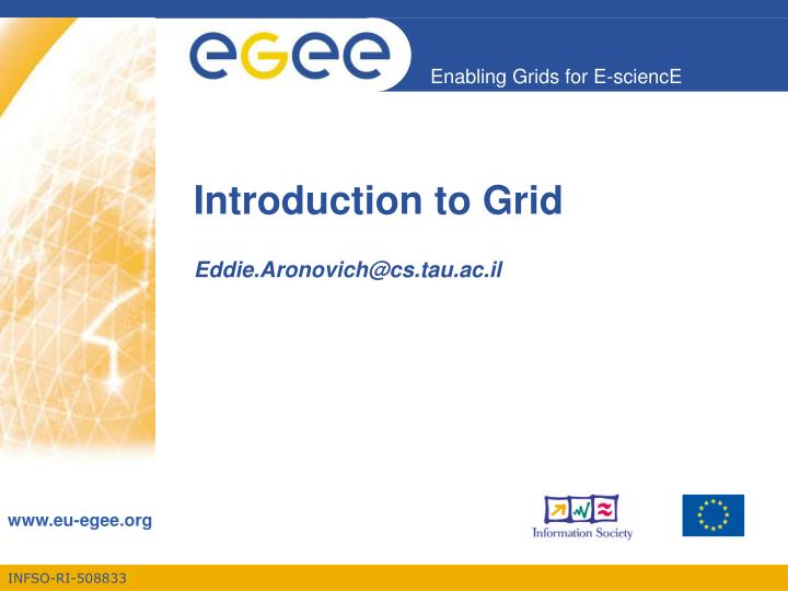 introduction to grid n.