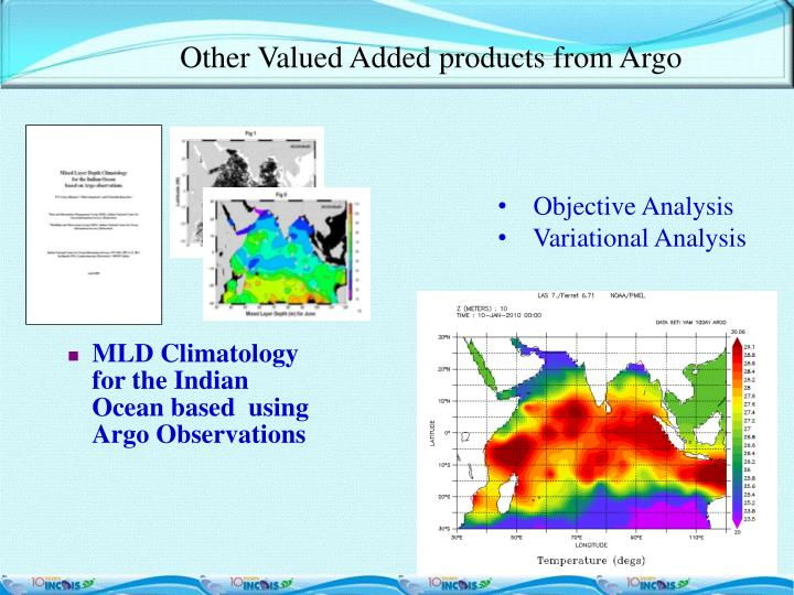 Other Valued Added products from Argo