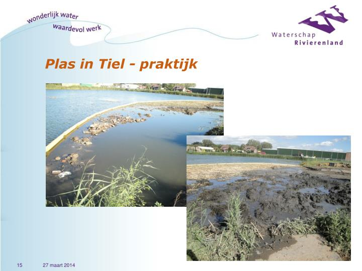 Plas in Tiel - praktijk