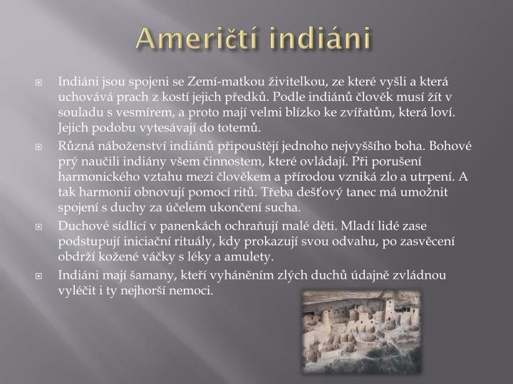 Američtí indiáni