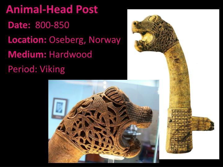 Animal-Head Post