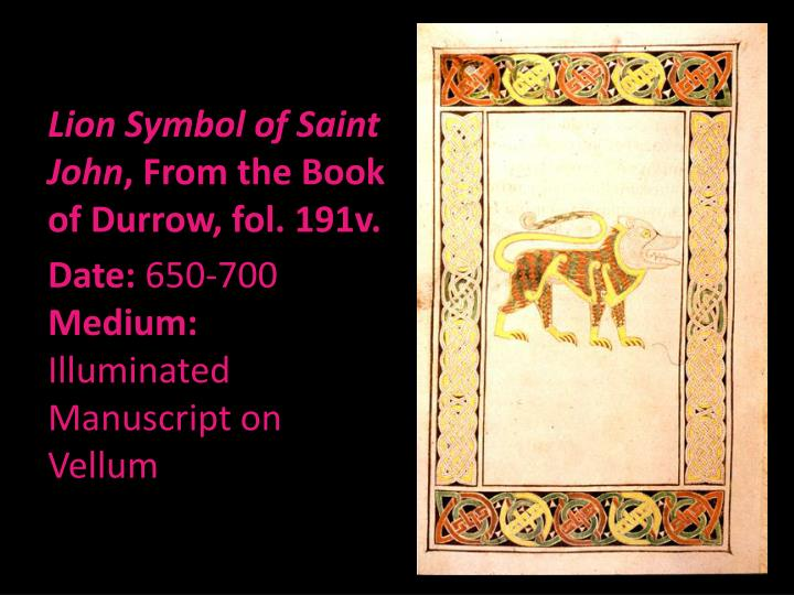 Lion Symbol of Saint John
