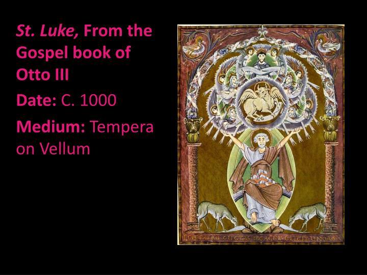 St. Luke,