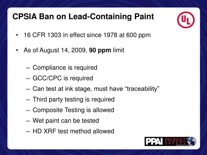 Ppt focus on balloons powerpoint presentation id 5583786 for When was lead paint banned