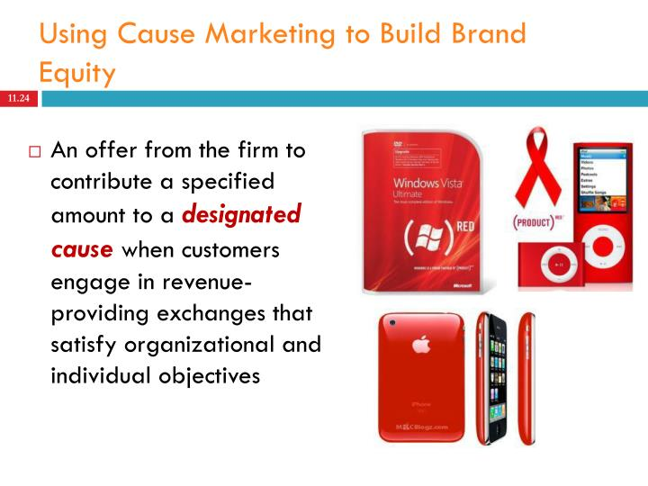 organization and brand equity Brand equity is how your customers recognize that you are different and better than other choices in the marketplace companies use brand equity to build customer loyalty loyal customers will buy your product and possibly refer other customers to you.