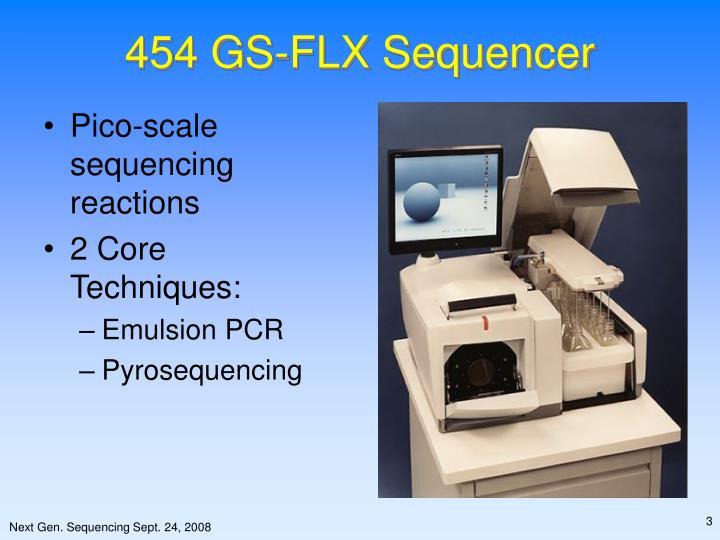 454 gs flx sequencer