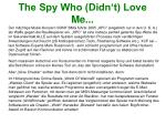 the spy who didn t love me