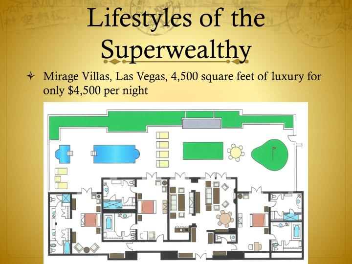 Lifestyles of the Superwealthy