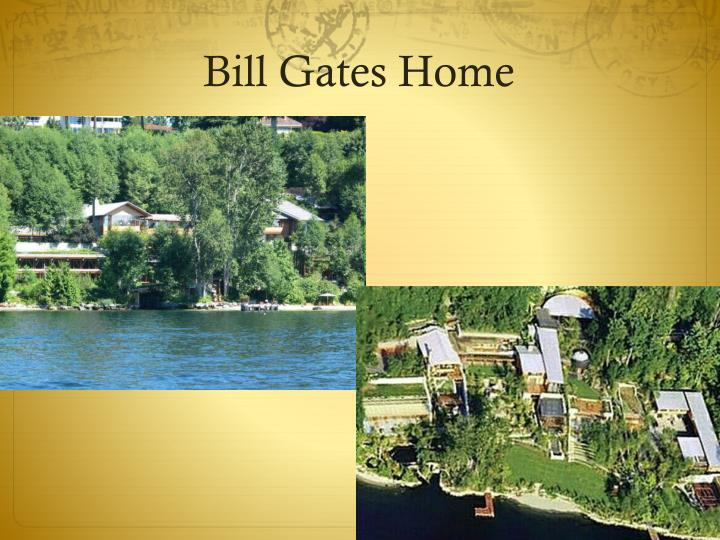 Bill Gates Home