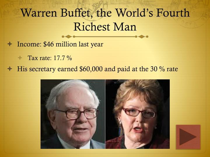 Warren Buffet, the