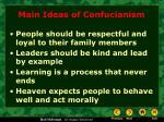 main ideas of confucianism