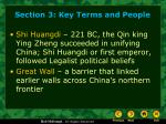 section 3 key terms and people