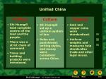 unified china