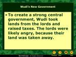 wudi s new government2