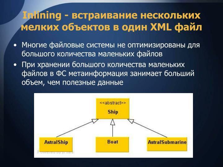Inlining -