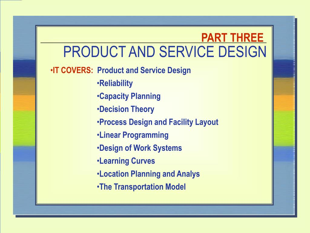 Ppt product and service design powerpoint presentation id:5584504.