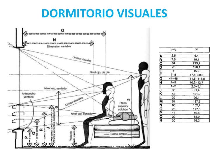 DORMITORIO VISUALES
