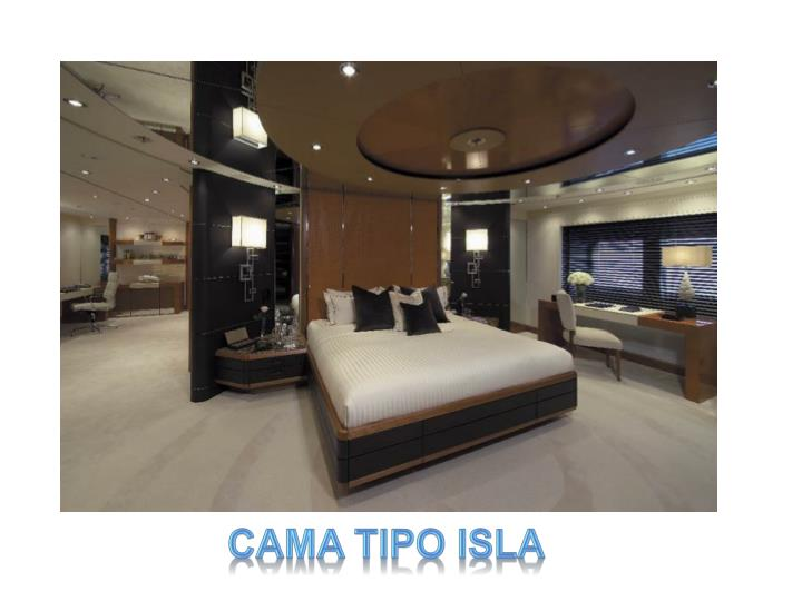 CAMA TIPO ISLA