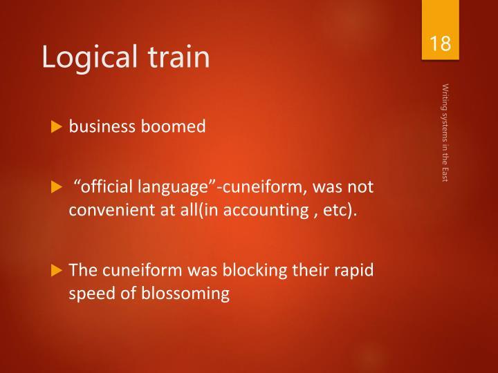 Logical train