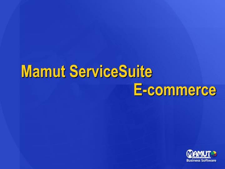 Mamut ServiceSuite