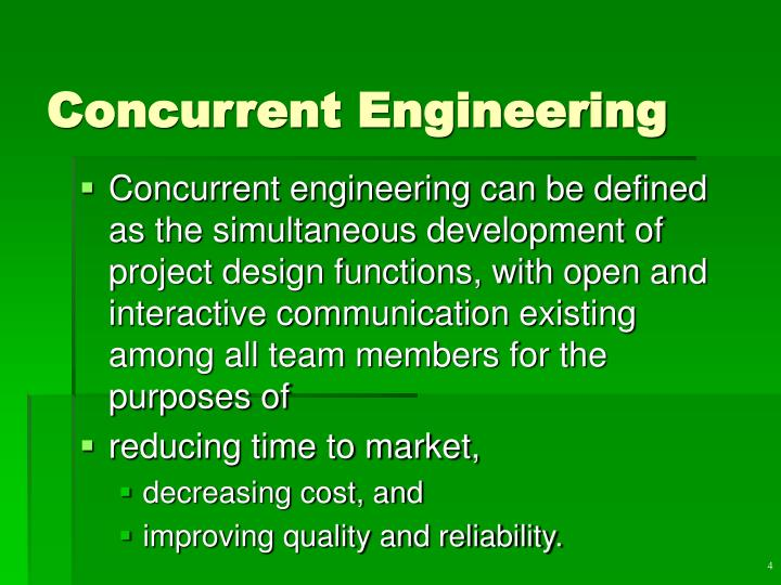 Concurrent Engineering Concept : Ppt product service design powerpoint presentation