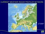 current weather radar profiler network
