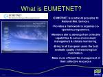 what is eumetnet