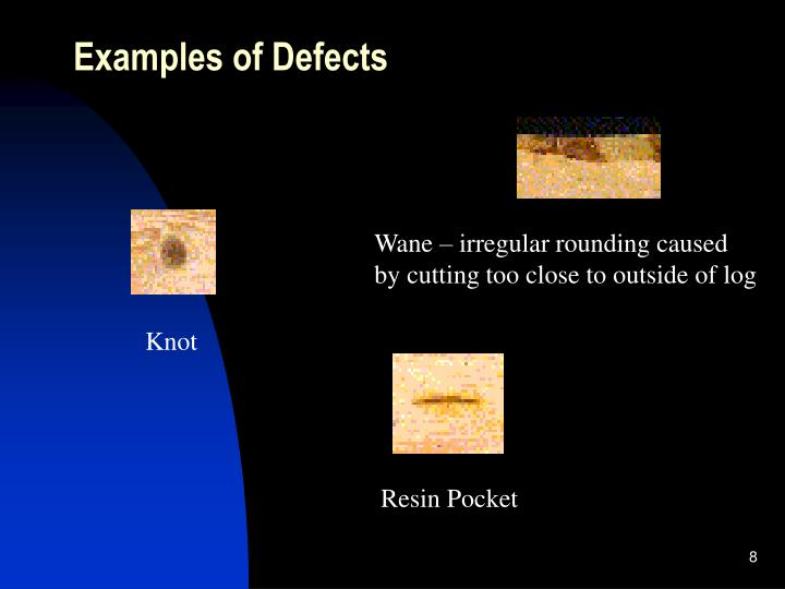 Examples of Defects
