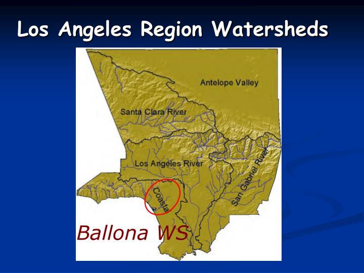 Los Angeles Region Watersheds