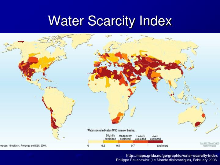Water Scarcity Index