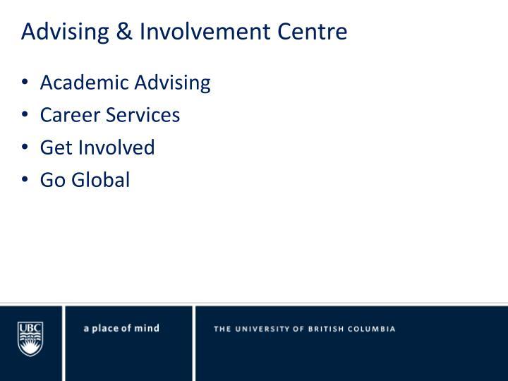 Advising & Involvement Centre