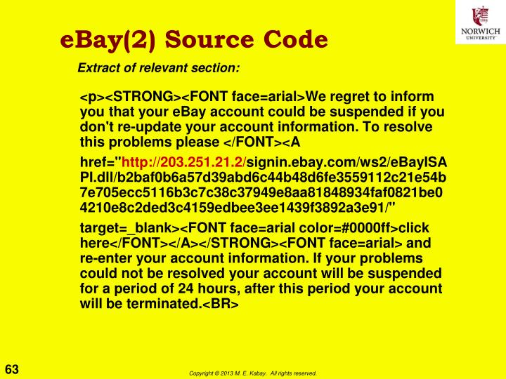 eBay(2) Source Code