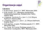 organizacja zaj3