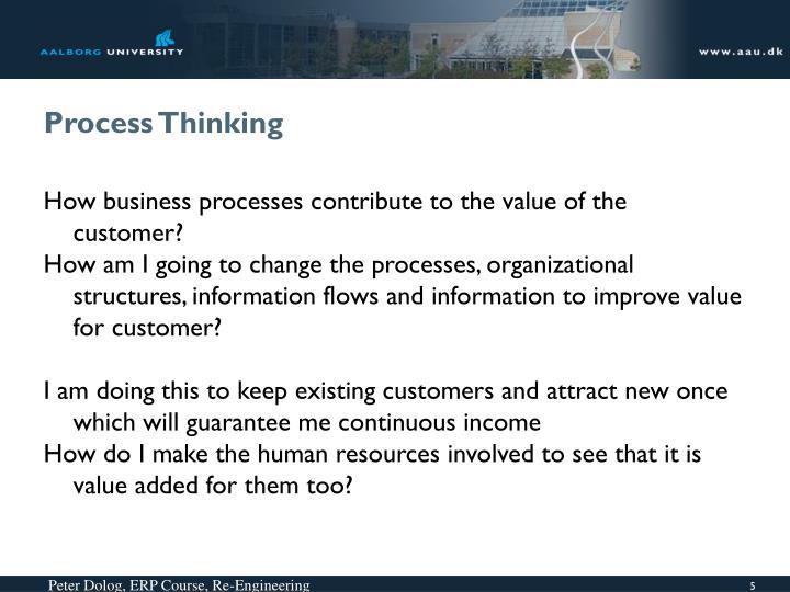 Process Thinking