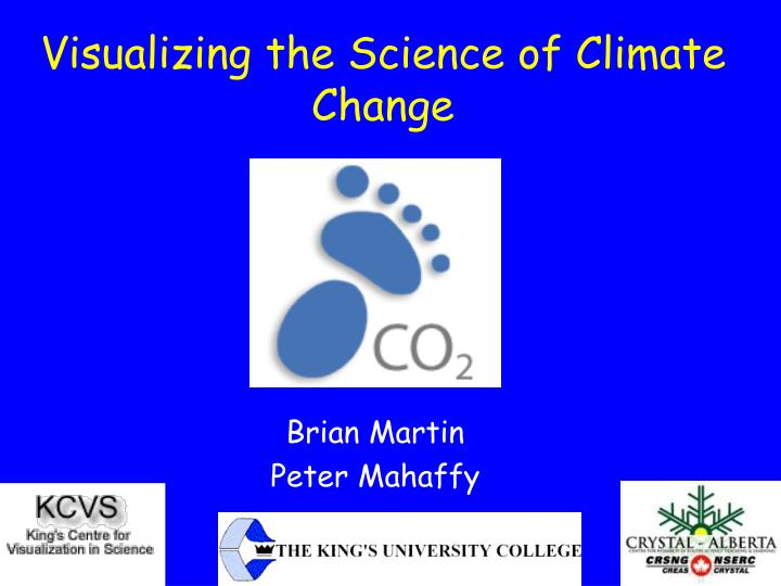 visualizing the science of climate change n.