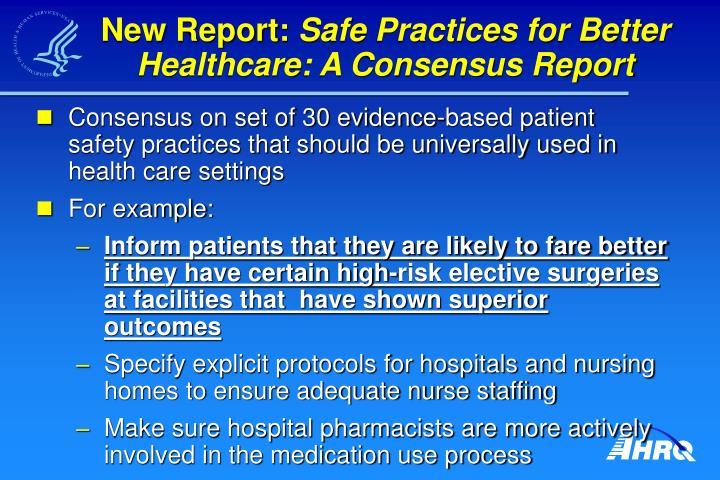New Report: