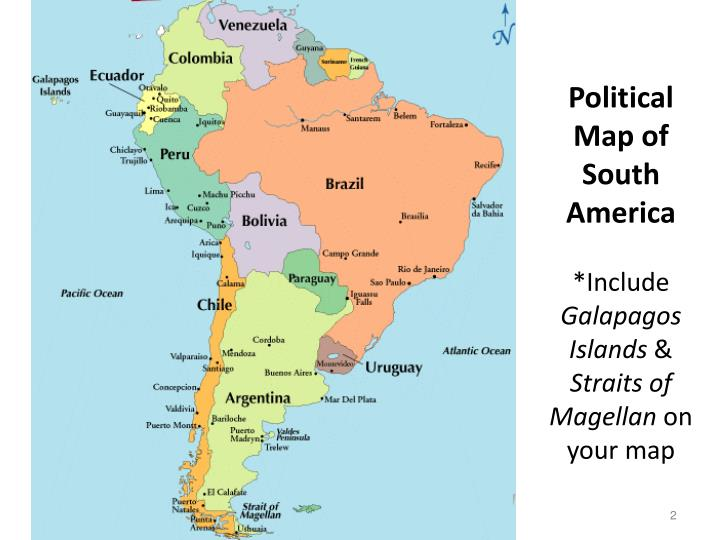 Map Of Galapagos South America Including - Free Usa Maps Map Of Usa With Laude And Longitude on