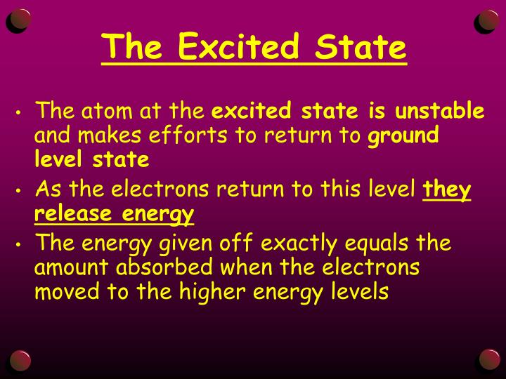 The Excited State