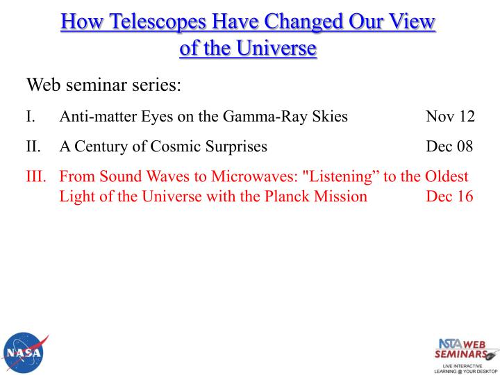 How Telescopes Have Changed Our View of the Universe
