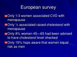 european survey