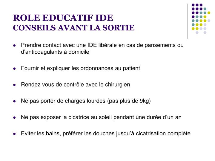 ROLE EDUCATIF IDE
