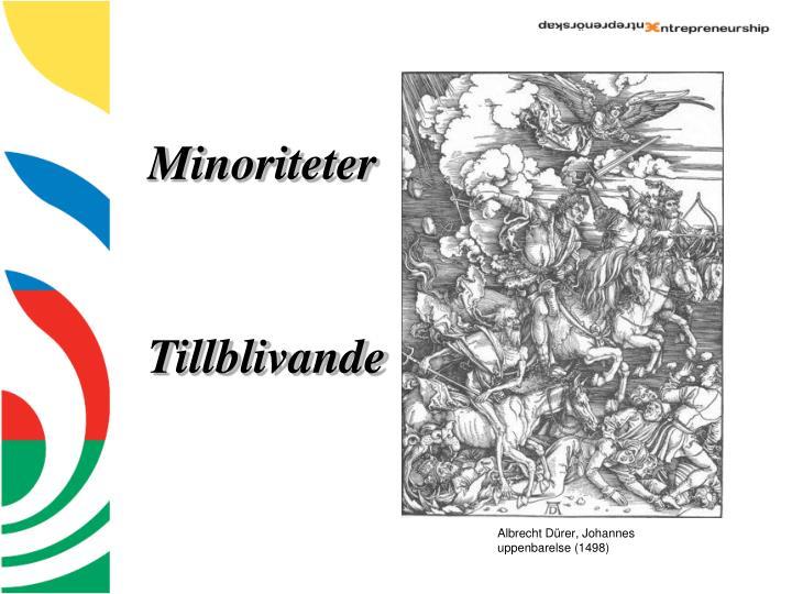 Minoriteter