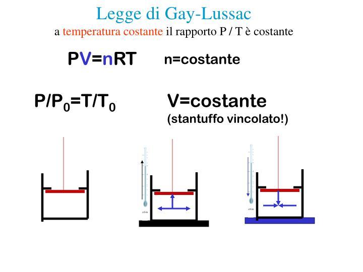 Legge di Gay-Lussac