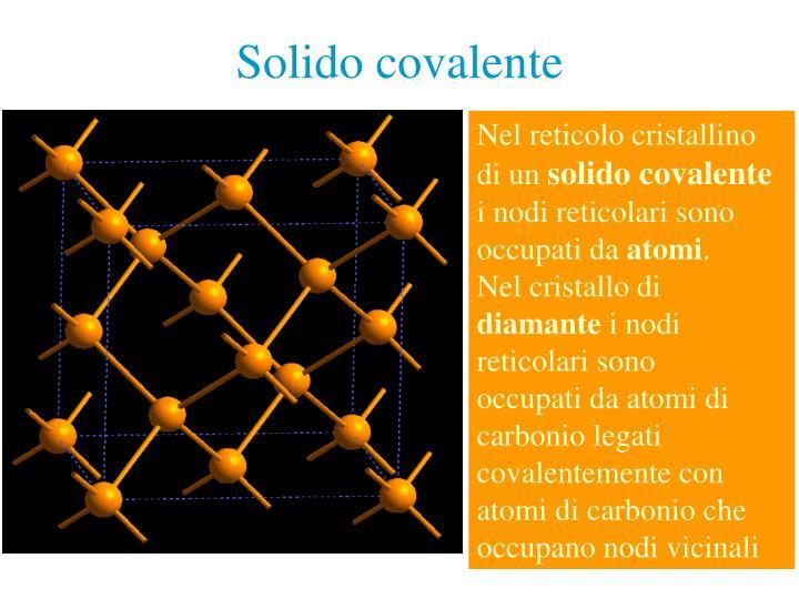 Solido covalente