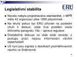 legislativn stabilita1
