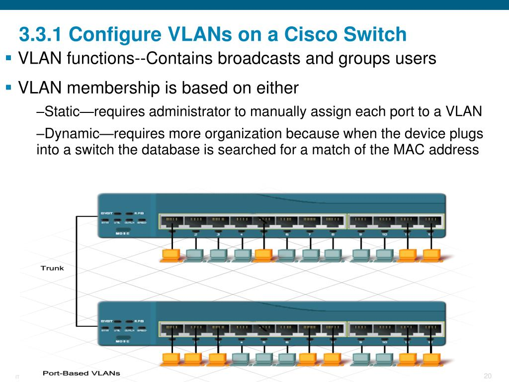 PPT - Switching in an Enterprise Network PowerPoint