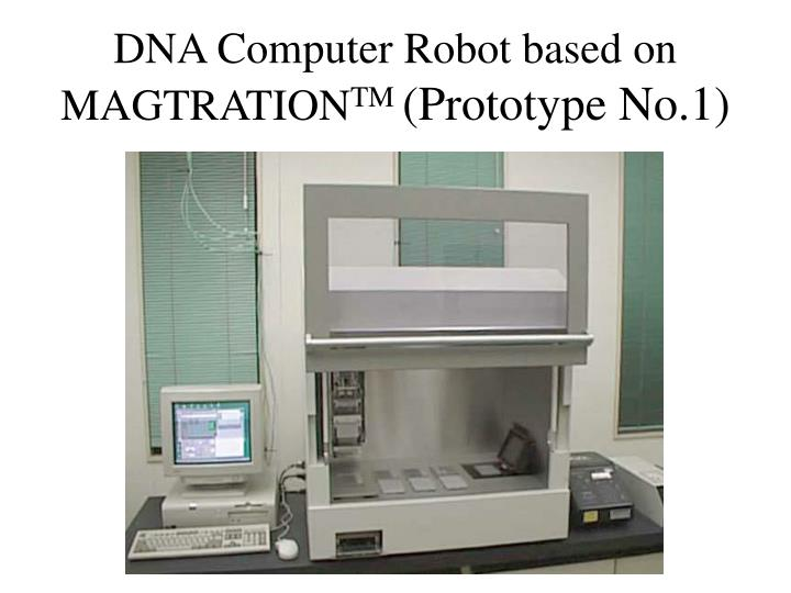 DNA Computer Robot based on MAGTRATION