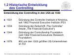 1 2 historische entwicklung des controlling3