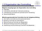 1 5 organisation des controlling